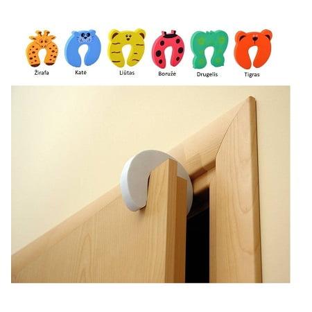 Durų apsauga, apsauga nuo durų trankymo 1vnt.