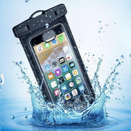 Vandeniui nepralaidus deklas telefonui