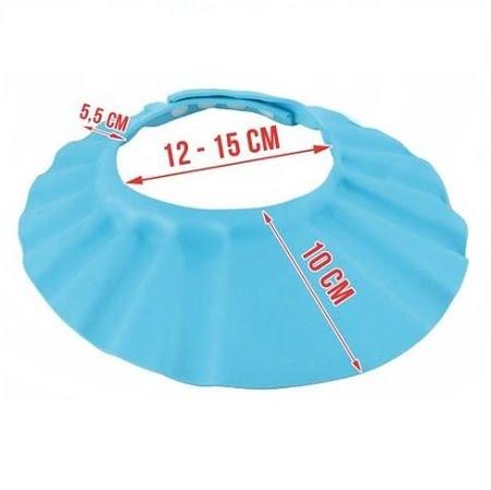 Maudynių kepurė mėlyna
